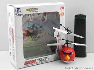 Летающая игрушка  Аngry Birds Helicоpter. Супер подарок. Акция  - Изображение #2, Объявление #1049383
