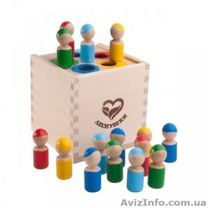 Магазин уникальных деревянных игрушек и настольных игр - Изображение #1, Объявление #1627782