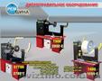 Дископравильный стенд профессиональный для рихтовки грузовых и легковых дисков-