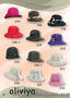 Гарніі,  стильні та елегантні капелюшки