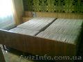 Двухспальная кровать б/у