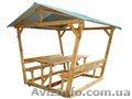 Альтанки для дому та дачі, деревяні