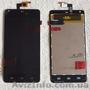 Дисплей+тачскрин для thl T5S black (LCD + Touch)