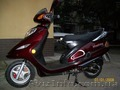 Украден скутер MUSSTANG 125cc вишневого цвета
