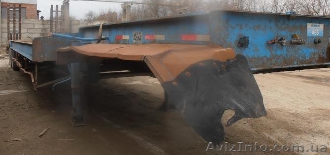Продаем колесный полуприцеп-платформу THT 9743TD,г/п 60 тонн,2008 г.в., Объявление #1454856