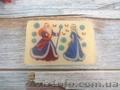 Мыло с картинкой «Дед Мороз и Снегурочка»