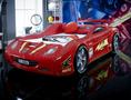 Детская Кровать машина F1 (красная).